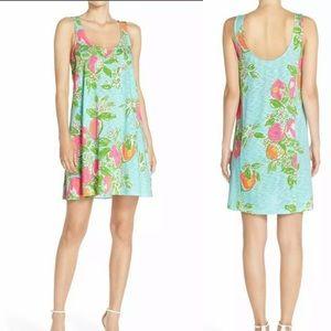 Lilly Pulitzer Pink Lemonade Carmel Tank Dress